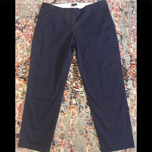 J Crew Stretch City Fit Ankle/Crop Pants sz 10~EUC